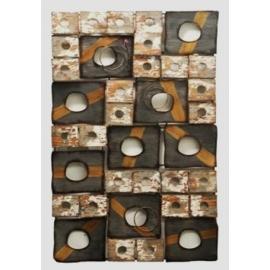 y15827 鐵材藝術 鐵雕壁飾系列造型壁飾