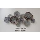 y15853 鐵材藝術 鐵雕壁飾系列 鐵藝壁飾