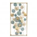 浪漫水波鐵藝壁飾- y16081 鐵材藝術 - 鐵雕壁飾系列 / 立體壁飾-抽象系列