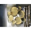 泡泡鐵藝壁飾- y16084 鐵材藝術 - 鐵雕壁飾系列 / 立體壁飾-抽象系列
