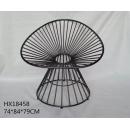 鍛鐵椅子- y15410- 傢俱系列-鐵材藝術