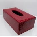 皮革面紙盒(y14821 傢具系列 面紙盒)