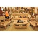 y13356 傢俱系列-創意造型風化傢俱-樟木五件組
