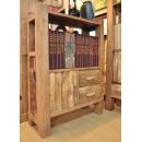y13358傢俱系列-創意造型風化傢俱- 樟木櫃(小)