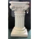 y13535羅馬柱花檯展示台系列-白色羅馬柱(小) - 有三種高度尺寸(可指定顏色)