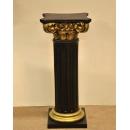 y13536羅馬柱花檯展示台系列-黑金色羅馬柱(中) - 共2色(各有三種高度尺寸)可指定顏色