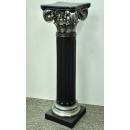 y13537羅馬柱花檯展示台系列-黑銀色羅馬柱(大) - 有三種高度尺寸(可指定顏色)