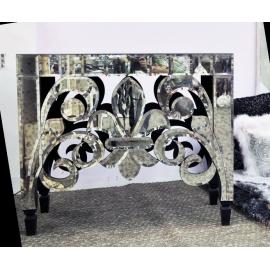 y13694 傢俱系列-玻璃及壓克力傢俱  貓頭鷹頭仿古桌子