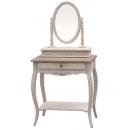 y13771傢俱系列-復古白色化妝台