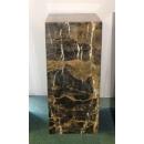 y13861羅馬柱花台展示台-大理石展示台(咖啡網) 80cm