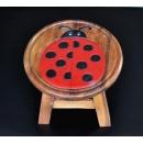 圓凳瓢蟲(ROUND STOOL -LADY BIRD)-y15184傢俱系列-實木家具