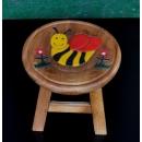 圓凳小蜜蜂(BEE)-y15185傢俱系列-實木家具