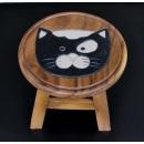 圓凳黑貓(BLACK CAT)-y15186傢俱系列-實木家具