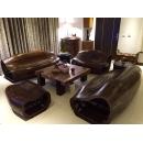 橡木靠背椅/組(不含桌子)y15244-傢俱系列-實木家具
