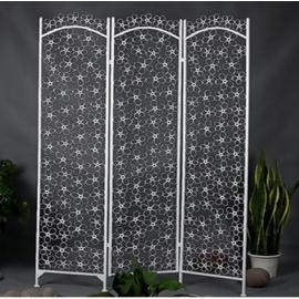 y15801傢俱系列 - 屏風-花朵三扇屏風/另有四扇屏風