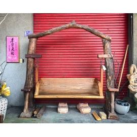 y16056傢俱系列.椅子.實木家具-柚木搖椅