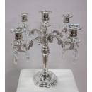y14067 燭台- 水晶燭台5燭 (另有款式3燭)