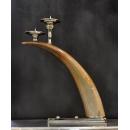 牛角燭台擺飾-大 (另有款式-小) y14120 燭台蠟燭香氛-燭台