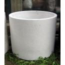 水磨石花器 y15045 花器系列 水磨石圓桶形-1號