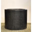 水磨石花器 y15052 花器系列 水磨石圓桶型-小1號