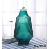 北歐輕奢夏洛克彩色插花玻璃花瓶- y16262 立體雕塑.擺飾 立體擺飾系列 - 器皿.花器系列 / 擺件插花