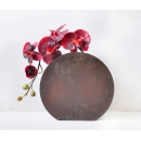 y11710 鐵製花器-鏽鐵花器(可訂製)40cm