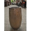 y13870-花器系列-古樸陶瓷   歐洲盆3052-咖啡色-中