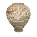 y13877 -花器系列-古樸陶瓷  落灰陶