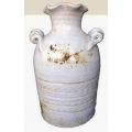 y13946 花器系列 -古樸陶瓷 -白色陶花器