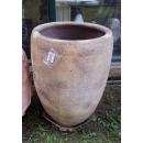 y14077 -花器系列-古樸陶瓷  沙釉高弧形包口甕-1號(另有款式)