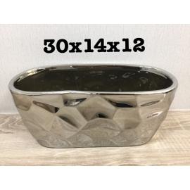y15723 花器系列-陶花器 鑽石切割花器-共2款顏色