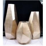 y15954花器系列 -鑽石切割瓶造型花器-香檳色-3入一組