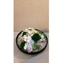 桌上型黑玻盆花藝-y15344-花藝設計.花材果樹