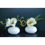 y15877 日式禪風小型花藝設計 茶几桌上擺飾 會場佈置 (花藝設計-小品盆花 )
