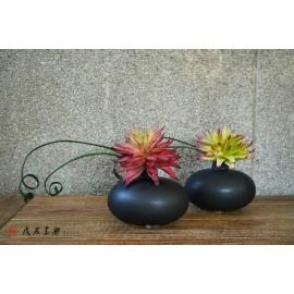 y15875 現代風多肉植物小盆造型花藝設計 茶几桌上擺飾 會場佈置 (花藝設計-小品盆花 )