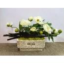 y13842 花藝設計 玄關桌.電視櫃盆花  花藝設計