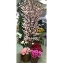 y13979 花藝設計.花材果樹- 人造樹- 8尺櫻花樹(粉)