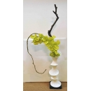 y14407 花藝設計- 茶几用直立式- 竹節瓶造型花藝
