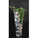 y14409 花藝設計- 玄關桌.電視櫃盆花 - 凹槽落地花藝設計(A款) 另有B款式