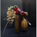 雙瓶鐵藝花藝-y15323-花藝設計.花材果樹
