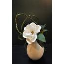大肚白瓶花藝-y15330-花藝設計.花材果樹