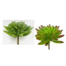 y15887 花藝設計-精緻人造花-多肉植物-小佛手 共2款顏色 綠.紅綠