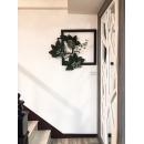窗框造型花藝 y16158 花藝設計.花材果樹 花藝設計-壁式花藝