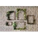 畫框造型花藝 y16161 花藝設計.花材果樹 花藝設計-壁式花藝