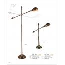 鋼材電鍍落地燈(y14804燈飾 落地燈)