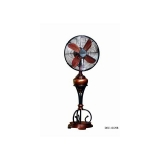 y12368 12''古典藝術電扇 彩繪花瓶藝術桌扇DEC-12312(多種款式)