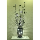 y13558 鋁製立燈- 荳泡燈+LED燈