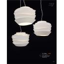 紙藝造型烤漆吊燈(y14756 燈飾 吊燈)