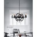 工業風仿燭吊燈(y14759 燈飾 吊燈)