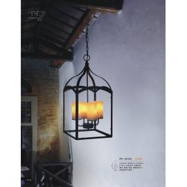 工業風鐵籠造型吊燈(y14761 燈飾 吊燈)